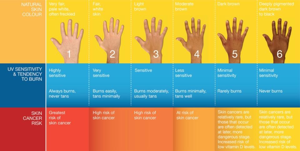 skin-type-chart